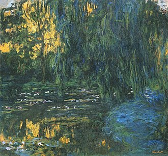 Literary modernism - Image: Claude Monet, Water Lily Pond and Weeping Willow