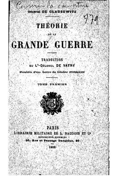 File:Clausewitz - Théorie de la grande guerre, I.djvu