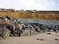 Cliffs at Perran Sands - geograph.org.uk - 98601.jpg