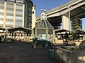 Clock tower in front of Maiko Station.jpg