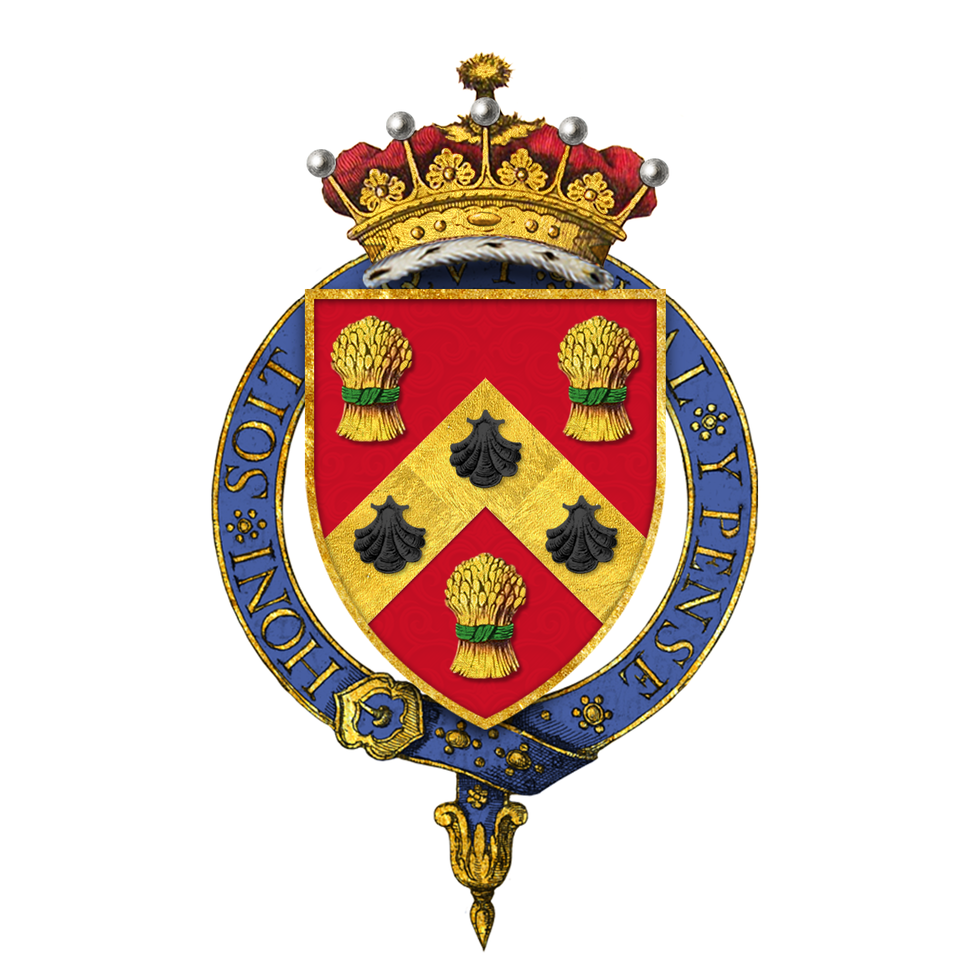 Coat of Arms of Anthony Eden, 1st Earl of Avon, KG, MC, PC