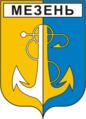 Coat of Arms of Mezen (Arkhangelsk oblast) (1980s).png
