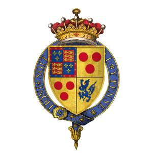 Henry Courtenay, 1st Marquess of Exeter - Image: Coat of arms of Sir Henry Courtenay, 10th Earl of Devon, KG