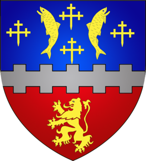 Pétange - Image: Coat of arms petange luxbrg