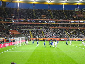 2011 FIFA Women's World Cup Final - United States and Japan in the World Cup Final