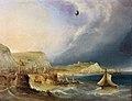Cocks, Balloon Leaving Dover (1840).jpg