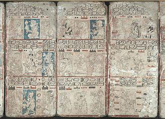 Maya script - Image: Codex Pages 6 8