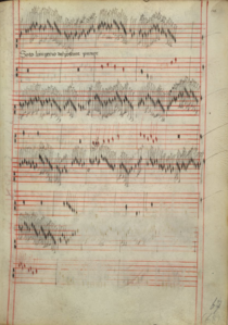 manuscrit musical