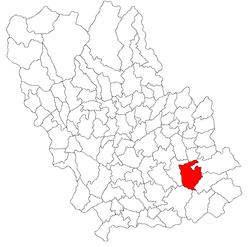 Vị trí của Colceag