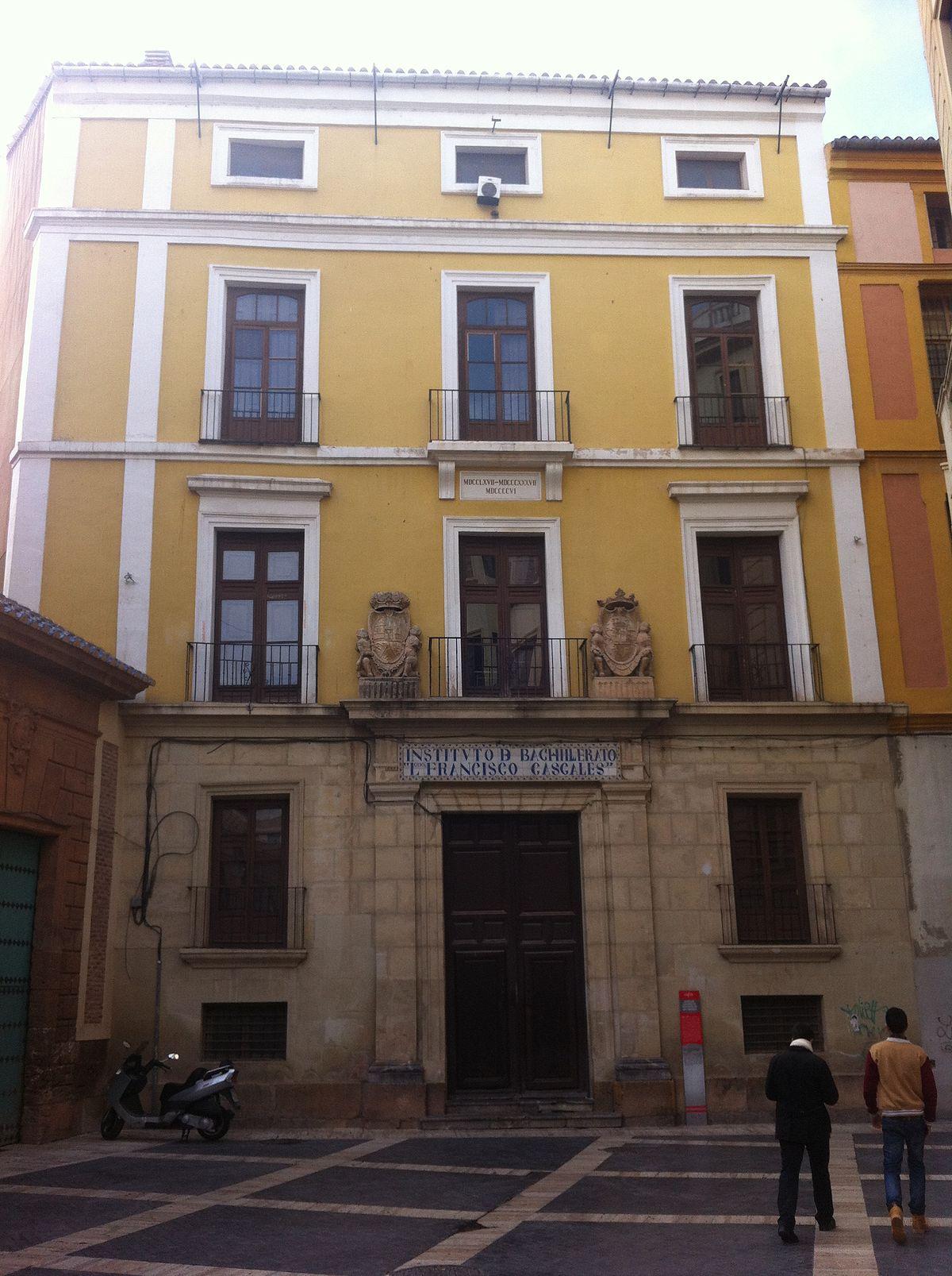Antiguo colegio de te logos de san isidoro wikipedia la - Colegio de arquitectos tecnicos de murcia ...