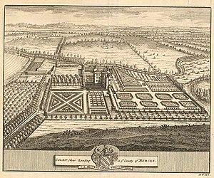 Coley Park - Coley Park c. 1700-1709