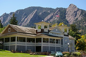 National Register of Historic Places listings in Colorado - Colorado Chautauqua, Boulder County