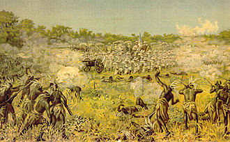 Portuguese Colonial War - The Battle of Coolela in 1895