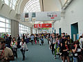 Comic-Con 2010 - getting in line for the Exhibition Hall (with True Blood banners on display) (4875044996).jpg