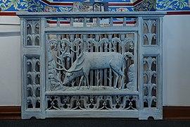 Commanderie Saint-Jean - chapelle - intérieur - sculpture (Colmar).jpg