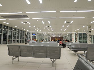 Conakry International Airport - Image: Conakry Airport Departure Lounge