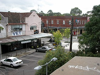 Concord West, New South Wales - Image: Concord West Shops