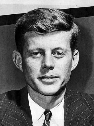 1952 United States Senate election in Massachusetts - Image: Congressman John F. Kennedy 1947 (1)