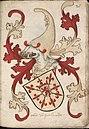 Coninc van Scotlandt - Koning van Schotland - King of Scotland - Wapenboek Nassau-Vianden - KB 1900 A 016, folium 28r.jpg