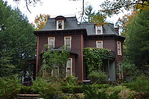 National Register of Historic Places listings in Venango County, Pennsylvania - Image: Connely Holeman House