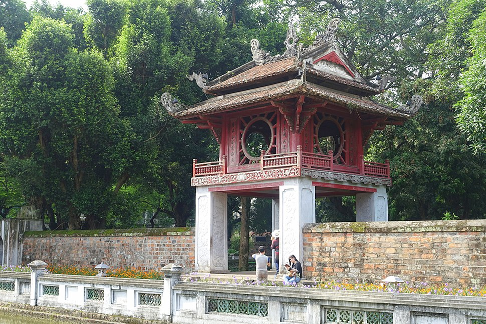 Constellation of Literature pavilion - Temple of Literature, Hanoi - DSC04688