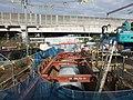 Construction of Pipe culverts under Tokaido Shinkansen.jpg