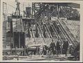 Construction of Sydney Harbour Bridge main bearing, 1927 (8282715717).jpg