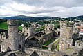 Conwy Castle - The Interior - geograph.org.uk - 1480617.jpg
