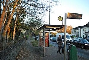 Coolmine - Coolmine bus stop no.1902