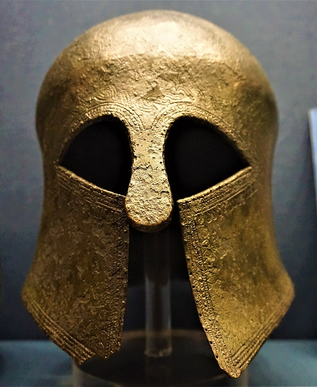 Corinthian Helmet - Benaki Museum, Athens