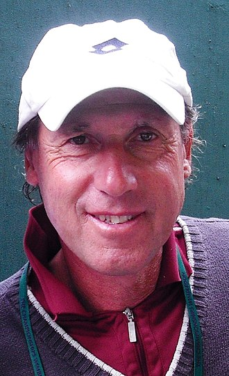 Corrado Barazzutti - Barazzutti at the Rome Masters in 2011.