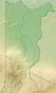 Costa Rica Heredia relief map.png