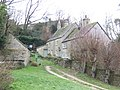 Cottages tucked into the hillside - geograph.org.uk - 305069.jpg