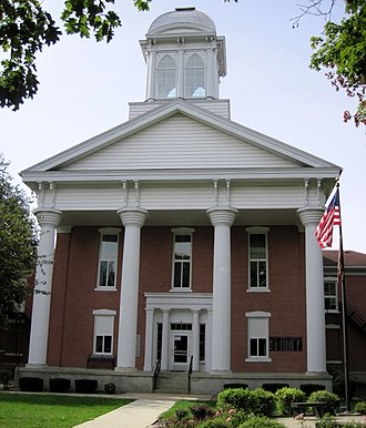 Mitchell County Courthouse (Iowa) - The old courthouse in 2012