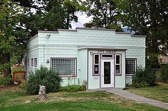 Cove, Oregon - Cove Library