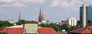 Coventry Skyline