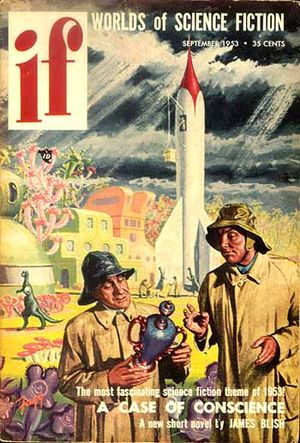 English: IF magazine cover, September 1953