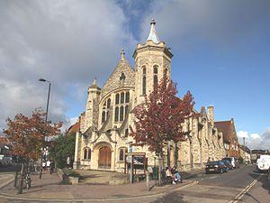Cowley Road, Oxford - Image: Cowley Rd Methodist Church Southeast