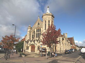 Cowley Road, Oxford - Image: Cowley Rd Methodist Church Southeast