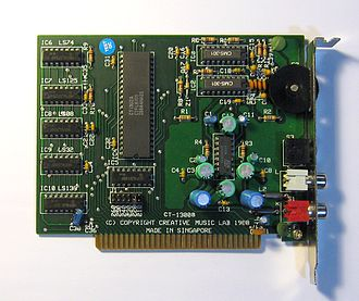 Sound Blaster - Creative Music System sound card