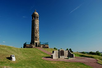 Crich - Memorial tower