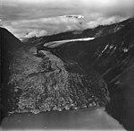 Crillon Glacier, valley glacier with lots of crevasses, August 23, 1976 (GLACIERS 5347).jpg