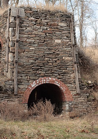 Cromwell Valley Park - a remaining lime kiln
