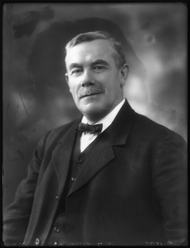 Cropped photograph of William Adamson