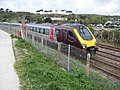 CrossCountry train leaves Penzance - geograph.org.uk - 1849311.jpg