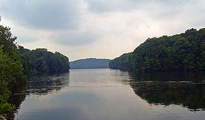 Cross River Reservoir - East end of the reservoir
