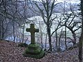 Cross in the woods - geograph.org.uk - 1098115.jpg