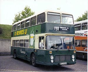 Crosville Motor Services - Eastern Coach Works bodied Bristol VRT