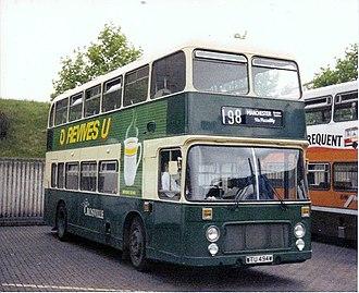 Crosville Motor Services - Eastern Coach Works bodied Bristol VRT
