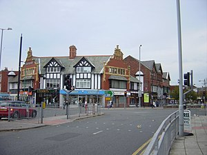 Crosby, Merseyside - Image: Crown Buildings, Crosby geograph.org.uk 72158